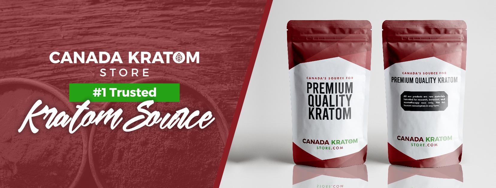 Canada Kratom Store #1 Trusted Kratom Source